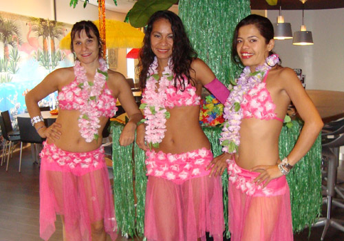 Thema feest tropical